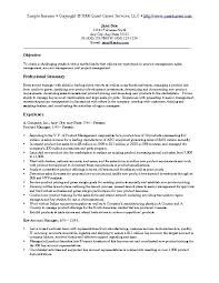 Senior Executive Resume Examples | Resume Examples and Free Resume ...