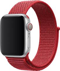 <b>Ремешок</b> для смарт-<b>часов EVA</b> AWA009R, красный — купить в ...