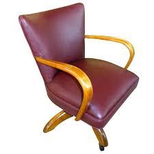 original art deco office chair european wood frame art deco desk chair office side armchair