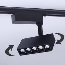 CREE 5x2W 10x2W <b>LED Track Lighting Dimmable</b> 110V 220V LED ...