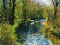 130 Richard <b>Thorn</b> ideas in 2021 | watercolor landscape, watercolor ...