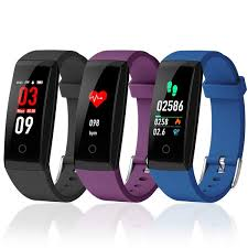 FORCA <b>W8 Color Screen Smart</b> Wristband Heart Rate Monitor ...