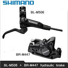 SHIMANO M506+M447 <b>MTB Bike Hydraulic Disc</b> Brake Set Clamp ...