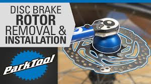 How to Replace a <b>Bicycle Disc Brake Rotor</b> - YouTube