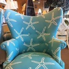 great starfish beach house chair recover momma jos chair beach themed furniture stores
