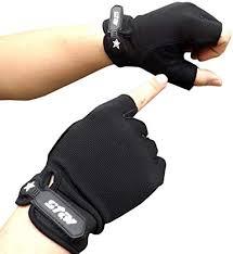Men Biking Cycling Gloves Powerlifting Half Finger ... - Amazon.com