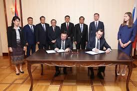 Russia and Lao <b>People's Democratic Republic to</b> develop ...