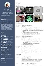 video editor resume samples   visualcv resume samples databasevideomaker video editor resume samples