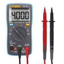 ZOYI ZT100 <b>ZT101 ZT102</b> 4000~6000 counts Current Voltage Ohm ...