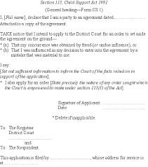 Child Support Rules 1992 (SR 1992/58) (as at 03 September 2007 ... Section 113, Child Support ...