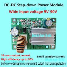 <b>DC</b>-<b>DC</b> 9V-<b>90V</b> 84V 72V 60V 48V 36V to <b>12V</b> 5V 3A Buck Step down