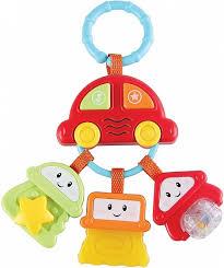 Подвеска на коляску <b>Happy Baby</b> Брелок с <b>ключами</b> - купить в ...