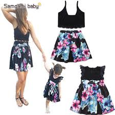 <b>2019new Fashion Family</b> Matching Outfits Mom And Daughter ...