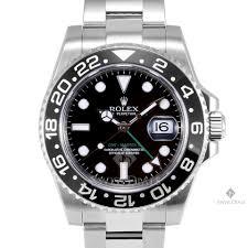 Rolex GMT-Master II <b>Stainless Steel</b> Black Dial Ceramic Black... for ...