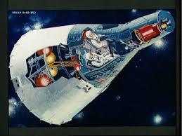 「1965年 - アメリカが世界初の「ジェミニ3号」を打上げ」の画像検索結果