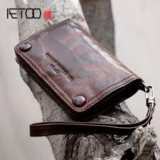 <b>AETOO</b> New <b>retro handmade</b> leather sheepskin casual short section ...