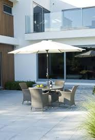 dining sets seater: alexander rose  seater rattan dining table chairs garden furniture dining set