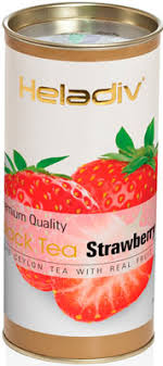 <b>Чай черный HELADIV HD</b> STRAWBERRY 100 gr Round P.T. ...