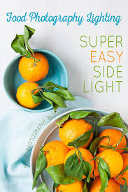 food photography lighting easy artificial side lighting artificial lighting set