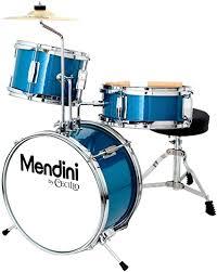 Mendini by Cecilio 13 inch 3-Piece Kids/Junior Drum ... - Amazon.com