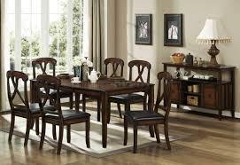 Transitional Dining Room Set Distressed Oak Finish Transitional Dining Table W Optional Items