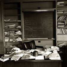 Albert Einstein: Revisiting an Iconic Photo of His Princeton Office ...