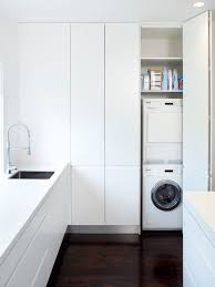 modern laundry room design ideas remodels photos bright modern laundry room