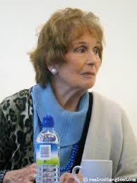 """Barbara Shelley at a 10th Planet signing, January 2011 """"When I was at a conference in America, I said to somebody: 'Why do you like horror films? - barbara_shelley_2011_2"""