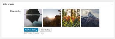 creating a portfolio page kadence themes kadence themes g if you are using an image slider or image grid as your portfolio post option then add images to your portfolio slider images gallery
