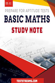 basic maths study note for aptitude tests teststreams basic maths study note for aptitude tests