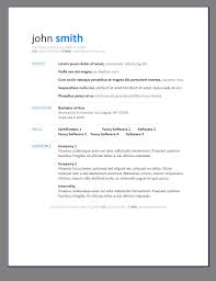 simple resume templates resumes zgpmoppu cover letter gallery of simple resumes templates