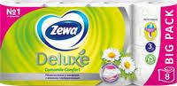 <b>Туалетная бумага ZEWA Deluxe</b> аром. Ромашки 3-сл. – купить в ...