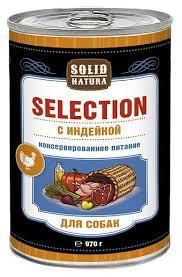 Купить Корм для собак <b>Solid Natura</b> (0.97 кг) 1 шт. <b>Selection</b> для ...