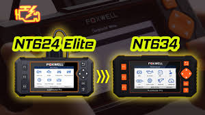 <b>Foxwell NT634 OBD2 scanner</b> review| NT624 Elite Upgrade ...