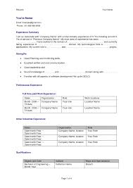 bpo experience resume doc cipanewsletter experienced resume format for software engineer template