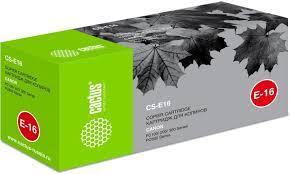 Купить <b>Картридж CACTUS CS-E16</b>, черный в интернет-магазине ...