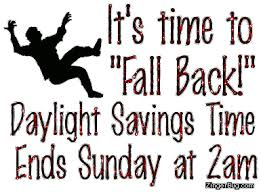 Free Advice on diminishing the Health Risk of Daylight saving time (back your clock)