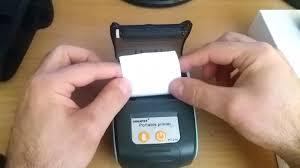 <b>GOOJPRT</b> Mini Bluetooth Thermal Printer - YouTube