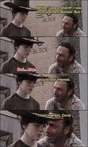 Walking Dad Jokes on Pinterest | Rick Grimes, Walking Dead and Dad ... via Relatably.com