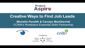 creative ways to job leads project aspiro expert interviews creative ways to job leads project aspiro expert interviews