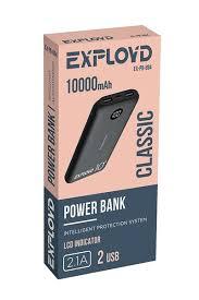 <b>Внешний аккумулятор Exployd Power</b> Bank Classic Slim ...
