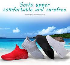 Damyuan Men's Casual Shoes <b>Zapatos De Hombre Flyknit</b> Jogging ...