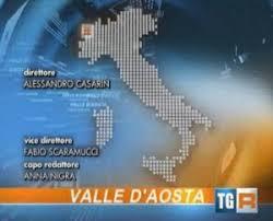 Tgr Valle D'Aosta conduttrice Valentina Antonelli scollata