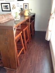 If you have a small <b>living</b> room <b>slash</b> dining room, a setup like this ...