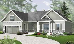 Plan of the Week    quot Bungalow   basement to finish now or later    DrummondHousePlans com   Plan    V