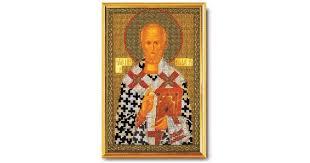 """Набор для вышивания икон из бисера """"Николай Чудотворец ..."""