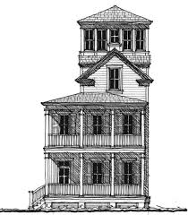 Edenton Tower House Plan  C   Design from Allison Ramsey ArchitectsEdenton Tower