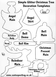 christmas decoration templates printable christmas tree or nts christmas tree decoration templates stencils and templates