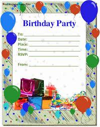 happy birthday invitation templates invitations card printable happy birthday invitation templates 9 birthday party invitation templates online creative designs