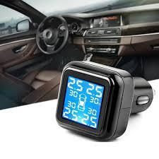 Wireless <b>Smart Car TPMS</b> 12V Digital Tire Pressure Monitoring ...